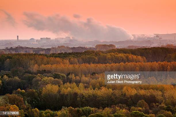 The nuclear power station of Chinon.