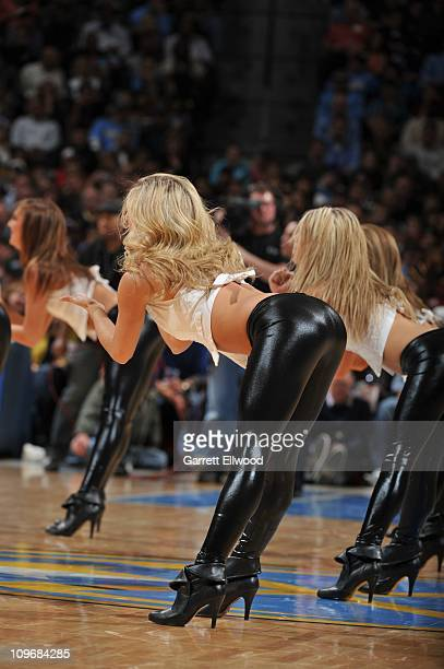 The Nuggets Dancers perform during a game against the Chicago Bulls on November 26 2010 at the Pepsi Center in Denver Colorado NOTE TO USER User...