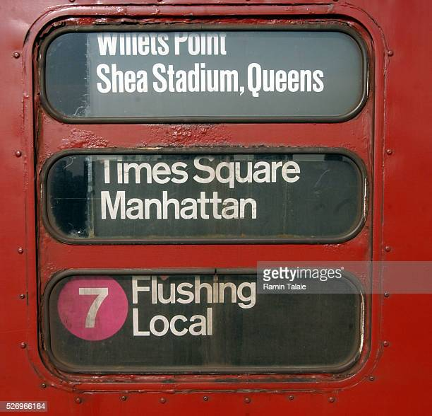 The number 7 train that runs from Times Square to Shea Stadium The New York City Metropolitan Transit Authority retired the last of their oldest...