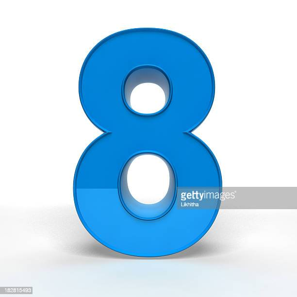 the number 8 - number 8 stock pictures, royalty-free photos & images