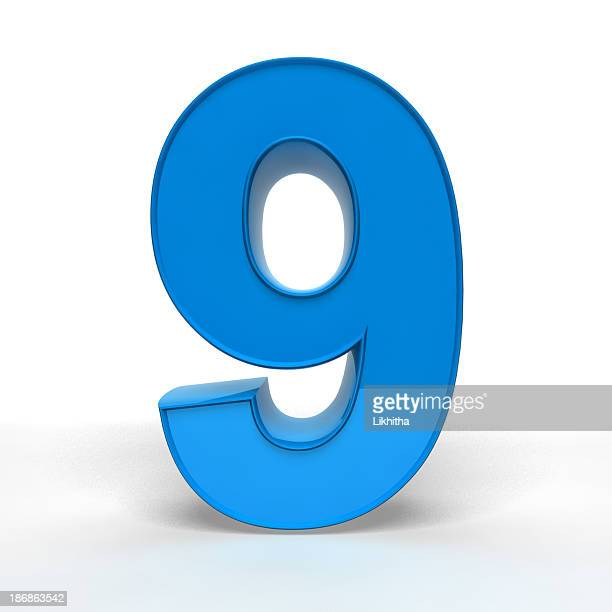 the number 9 - number 9 stock pictures, royalty-free photos & images