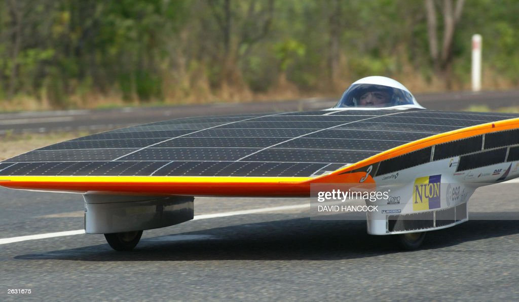 The Nuna Ii Solar Car From Nuon Solar Pictures Getty Images
