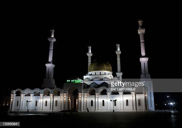 The Nur Astana Mosque in Astana Kazakhstan on September 20 2010