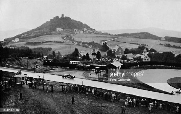 The Nurburg Ring, Eifel Mountains, Germany', 1937. From Sir Malcolm Campbell's Book of Famous Motorists, edited by Sir Malcolm Campbell. [Blackie &...