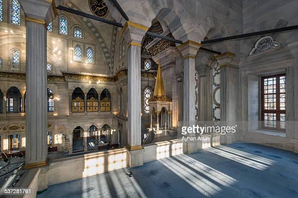 The Nuruosmaniye Mosque in Istanbul,Turkey