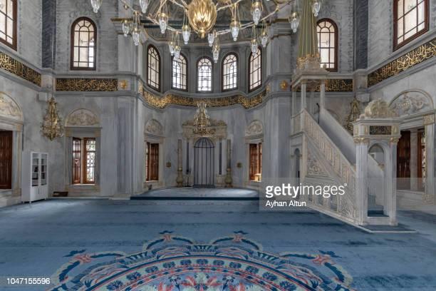 the nusretiye mosque in istanbul,turkey - mezquita fotografías e imágenes de stock