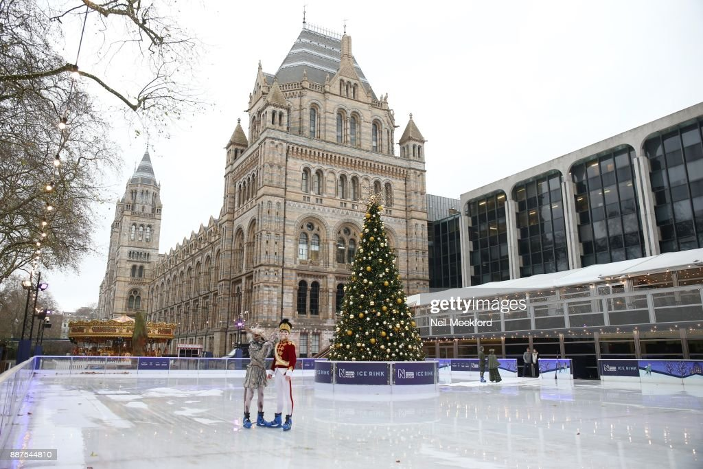 The Nutcracker by The English National Ballet is performed at The Natural History Museum Ice Rink on December 7, 2017 in London, England.
