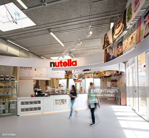 The Nutella exhibition space at Milan Expo ''Feeding the planet Energy for Life'' Milan Italy May 2015