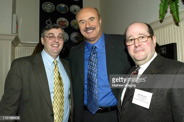 The NY Chapter of The National Television Academy and Peter Price and The National Television Academy hosted a Drop In Luncheon featuring Dr Phil...