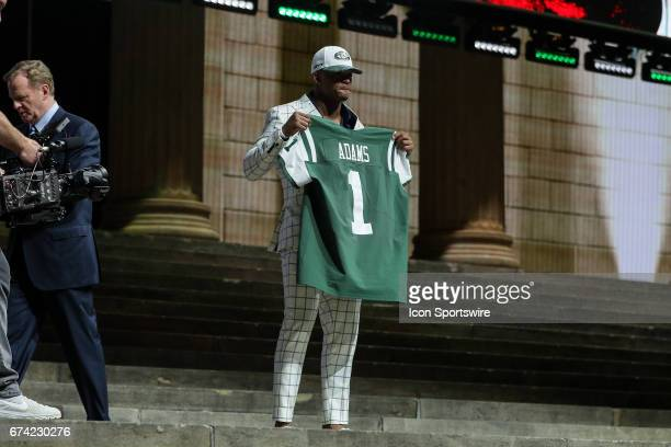 The NY Jets select Jamal Adams of LSU with the sixth pick at the 2017 NFL Draft at the 2017 NFL Draft Theater on April 27 2017 in Philadelphia PA