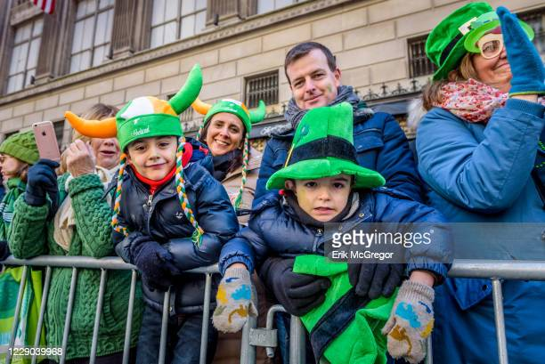 The NYC Saint Patrick's Day Parade. Along the parade route on 5th Avenue, thousands of spectators came to celebrate. Since it began, this tradition...