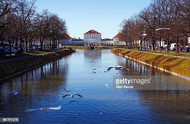 the nymphenburg palace - ニュルンベルク ストックフォトと画像
