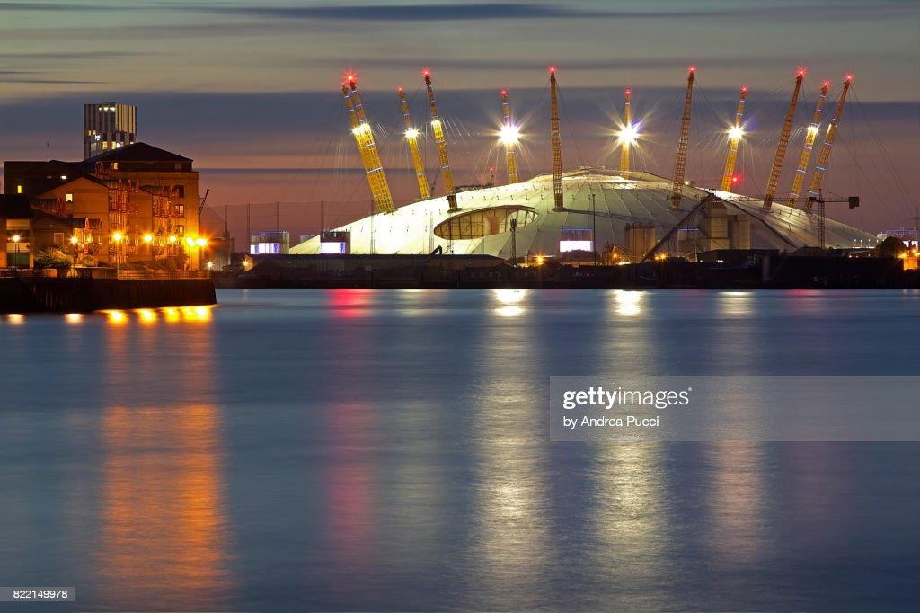 The O2, London, United Kingdom, North Greenwich, London, United Kingdom : Stock Photo