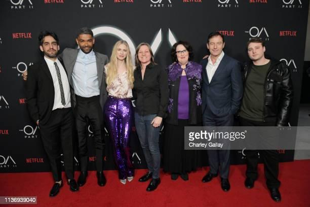 The OA Director and Co-creator Zal Batmanglij, Kingsley Ben-Adir, The OA Co-creator Brit Marling, Netflix VP of Original Content CIndy Holland ,...