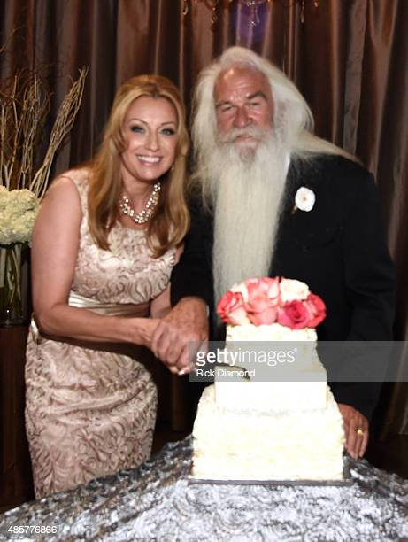 The Oak Ridge Boys' William Lee Golden marries Simone De Staley on August 29 2015 at The Rosewall in Nashville Tennessee