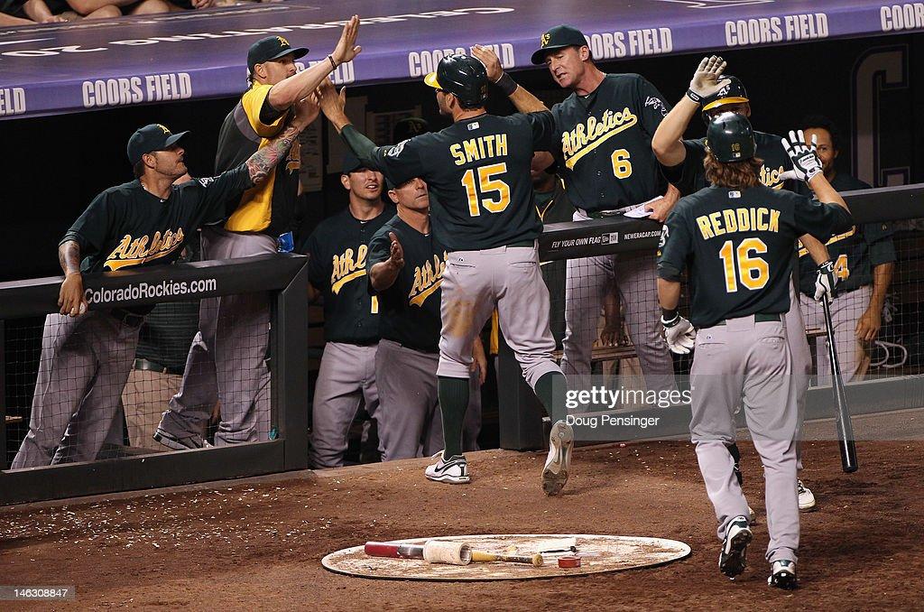 Oakland Athletics v Colorado Rockies