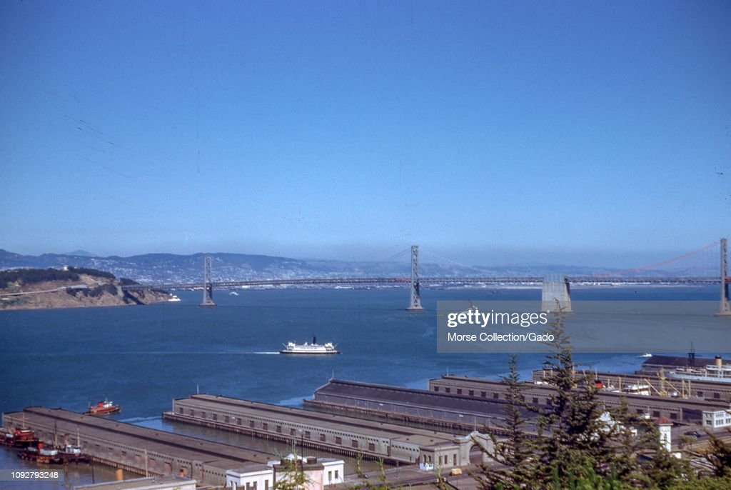 Bay Bridge : News Photo
