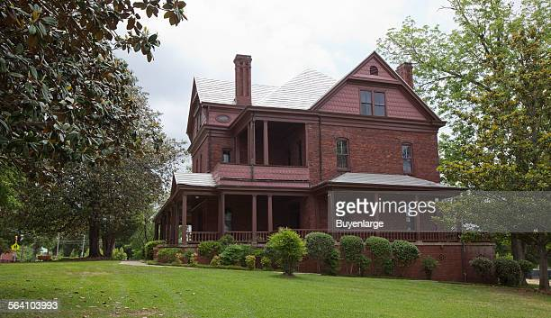 The Oaks home built for Booker T Washington and his family in Tuskegee Alabama