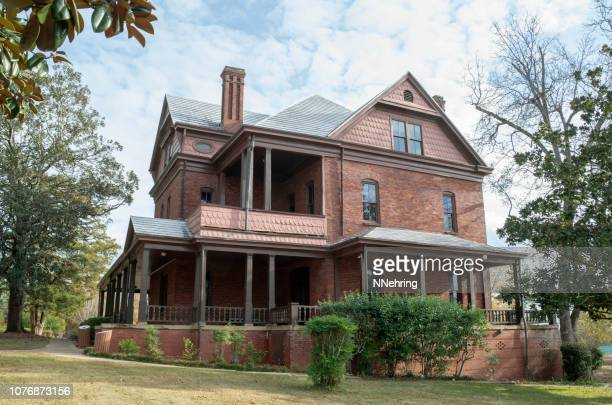 the oaks, tuskegee, alabama - booker t. washington stock pictures, royalty-free photos & images