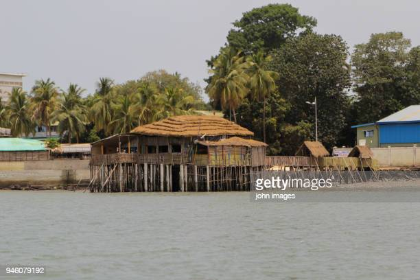 the obama restaurant and bar in guinea - guinea stock pictures, royalty-free photos & images