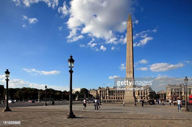 The Obelisk of Luxor in Place de la Concorde
