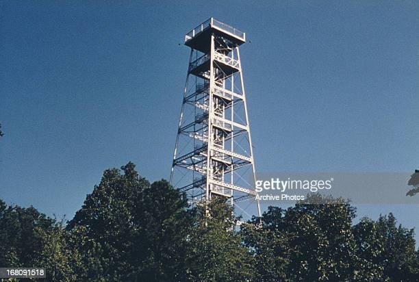 The Observation Tower at Hot Springs National Park Arkansas circa 1965