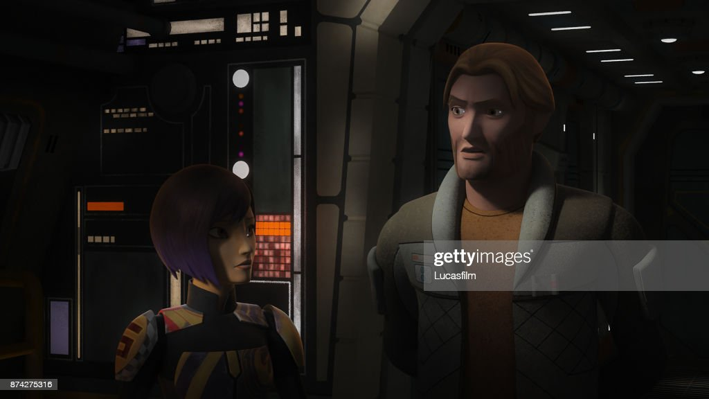 REBELS - 'The Occupation' - Ezra and the Ghost crew are called back to Lothal when a new Imperial threat rises. This episode of 'Star Wars Rebels' airs Monday, October 30 (9:00 - 9:30 P.M. EDT) on Disney XD. SABINE, ALEXSANDR