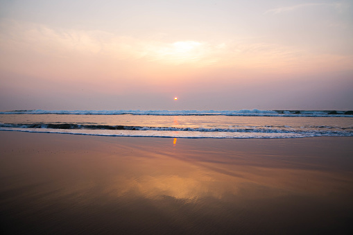 The Ocean Beach of San Francisco during the sunset. - gettyimageskorea