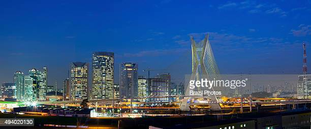 The Octavio Frias de Oliveira bridge is a cablestayed bridge in Sao Paulo Brazil over the Pinheiros River opened in May 2008 The bridge is 138 metres...
