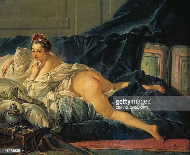 The Odalisque by Francois Boucher Rheims Musée Des BeauxArts