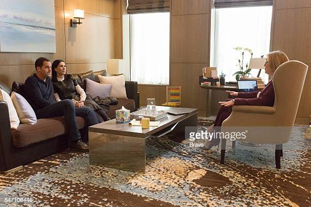 OUT 'The ODD Couple' Episode 205 Pictured Andy Buckley as Andy Jill Kargman as Jill Meredith Vieira as Dr Baldwin