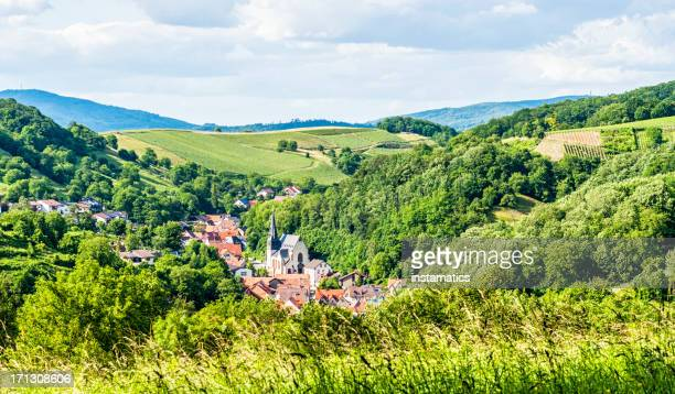 The Odenwald in Germany