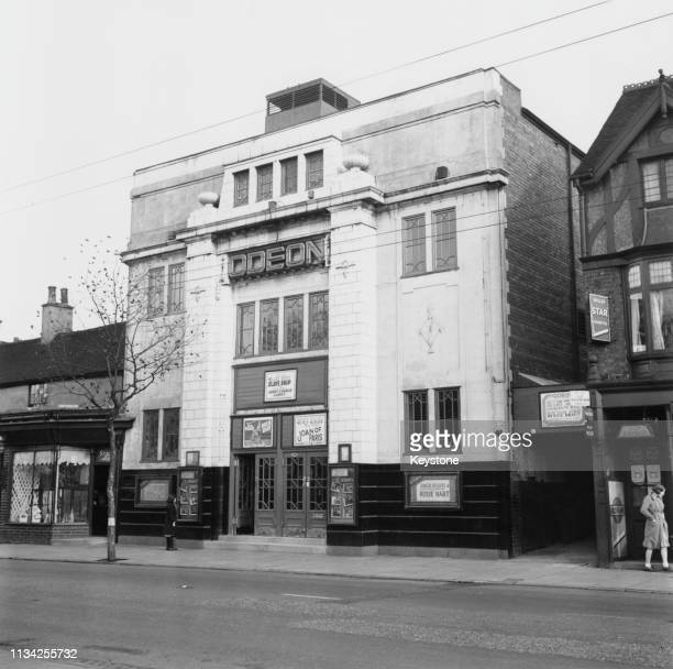 The Odeon cinema in Bloxwich Walsall West Midlands 1943 The film currently showing is 'Roxie Hart' starring Ginger Rogers The building opened as The...