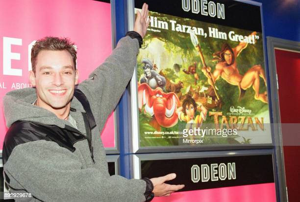 The Odeon Cinema opens at SkyDome multiplex Croft Road Coventry Thursday 21st October 1999 Toby Anstis Children's television presenter