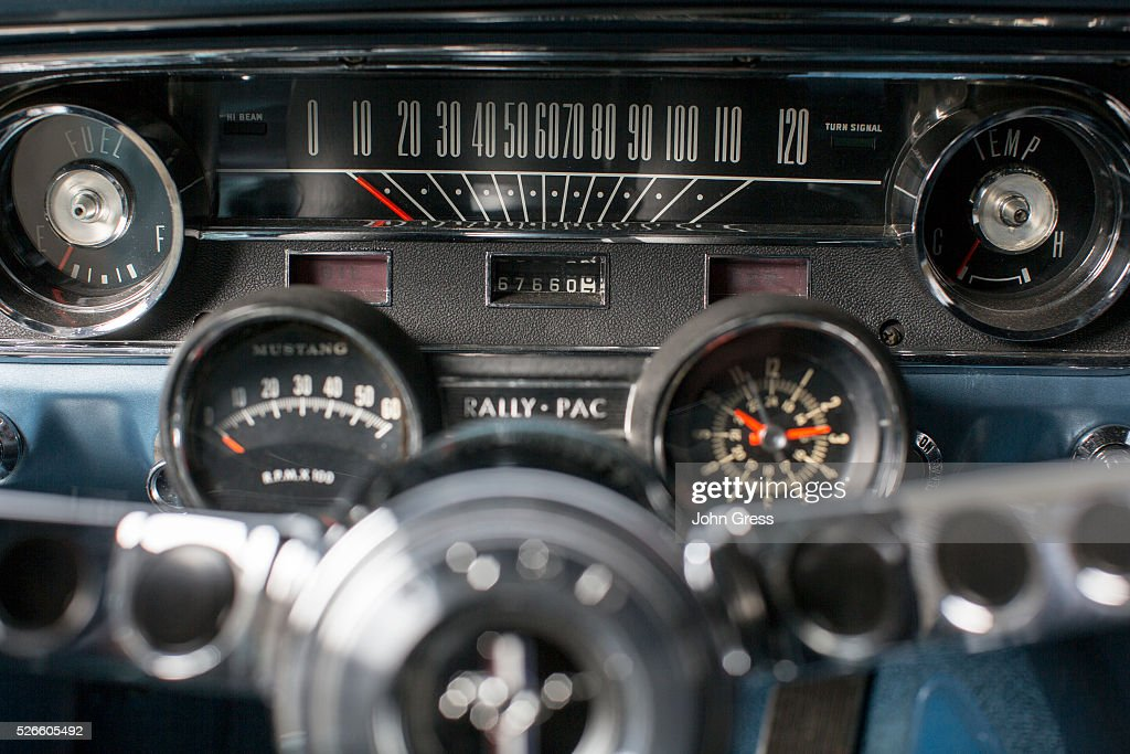First Mustang Ever Sold Pictures | Getty Images
