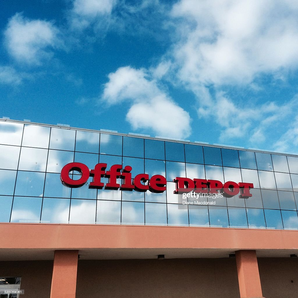 Charming The Office Depot Store At Jacksonville Beach Florida USA