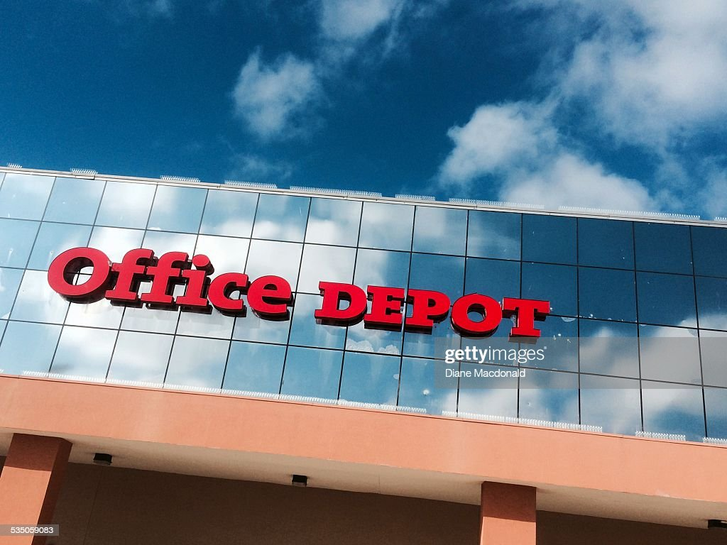 The Office Depot Store At Jacksonville Beach Florida USA