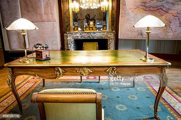 The office of Georges Clemenceau the french President and minstery of War during the first world war renovated to the same after years of neglect on...