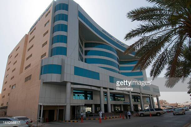 The offices of ANB Invest or Arab National Investment Company stand in Riyadh Saudi Arabia on Tuesday May 8 2012 Saudi Arabia's stock market is the...