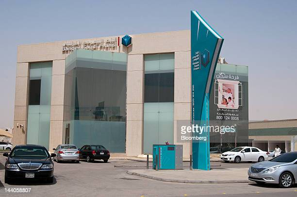 The offices of Banque Saudi Fransi stand in Riyadh Saudi Arabia on Tuesday May 8 2012 Saudi Arabia's stock market is the Gulf Cooperation Council's...