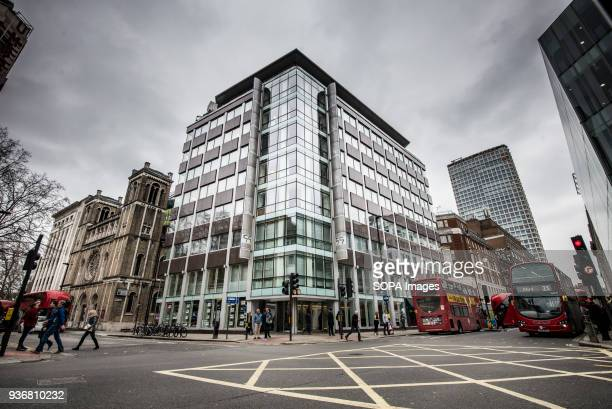 The offices of Cambridge Analytica in central London Facebook expressed outrage over the misuse of its data as Cambridge Analytica the British firm...