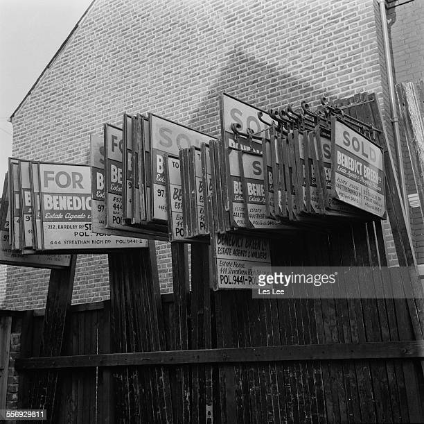 The offices of missing person Michael Benedict of 'Benedict Breen Ltd' estate agents 20th July 1967