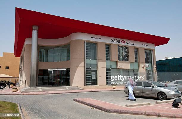 The offices of SABB or Saudi British Bank stand in Riyadh Saudi Arabia on Tuesday May 8 2012 Saudi Arabia's stock market is the Gulf Cooperation...