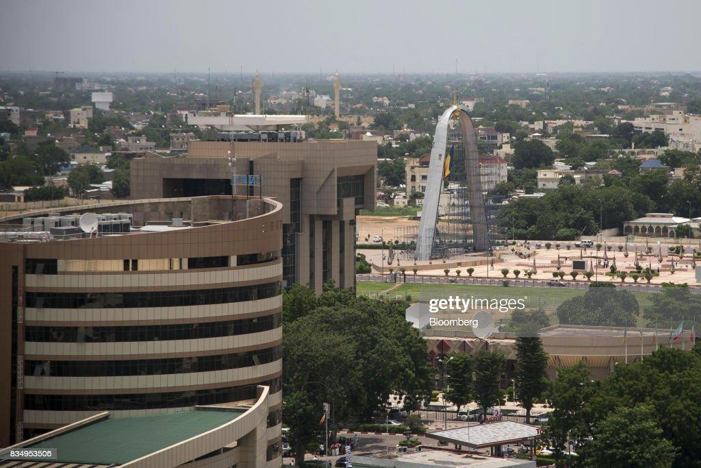General Economy And City Views In Chadian Capital N'Djamena : News Photo
