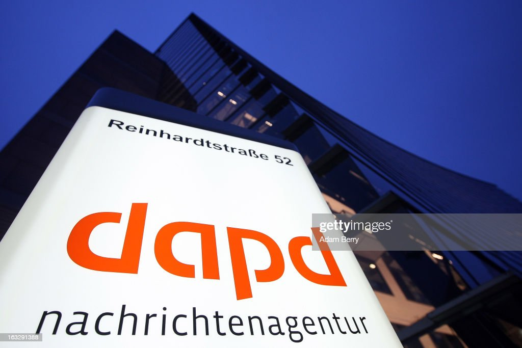 The offices of the German news agency dapd are pictured on March 7, 2013 in Berlin, Germany. The country's second-largest news agency, dapd, was forced to declare insolvency for the second time in five months on March 1.