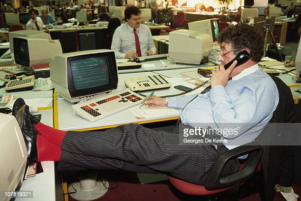 The offices of the Mirror Group in London June 1988