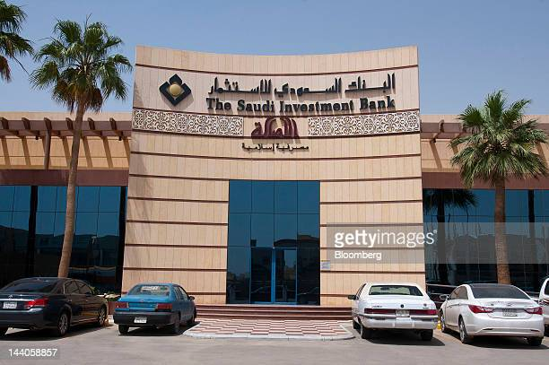 The offices of the Saudi Investment Bank stand in Riyadh Saudi Arabia on Tuesday May 8 2012 Saudi Arabia's stock market is the Gulf Cooperation...