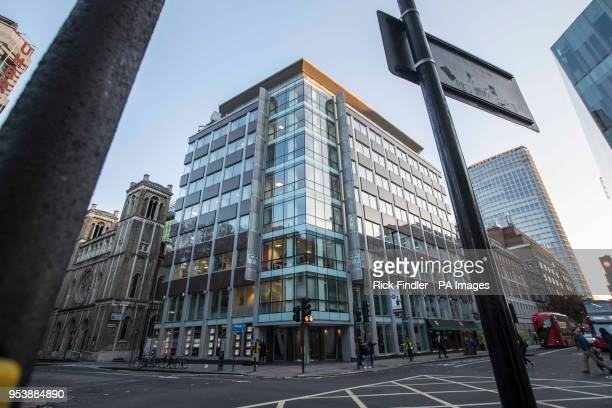 The offices where Cambridge Analytica in central London are based the firm at the centre of the Facebook datasharing scandal is to shut down the...