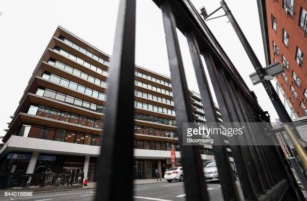 The offices which house the headquarters of Bell Pottinger LLP stand in London UK on Tuesday Sept 5 2017 Bell Pottinger LLP's attempt to sell itself...