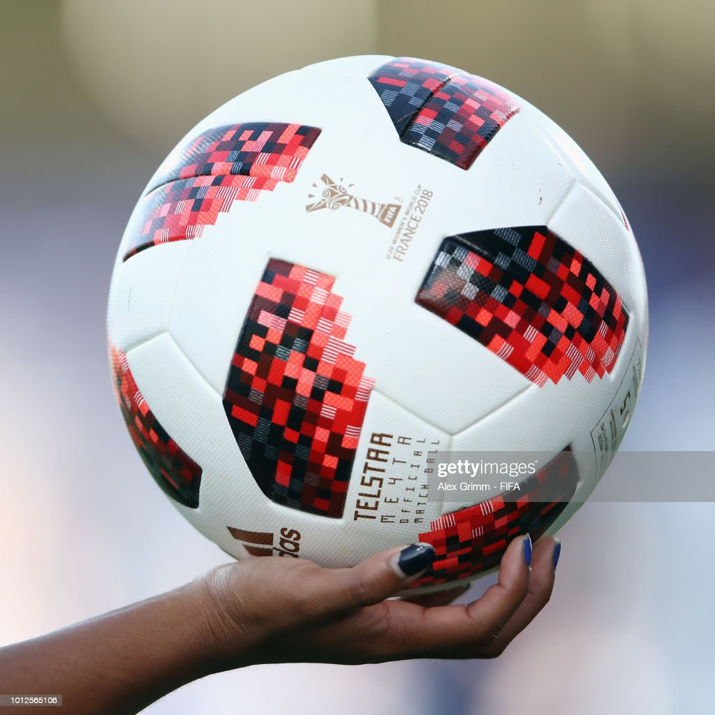 The official adidas matchball during the FIFA U-20 Women s World Cup ... b13a930af